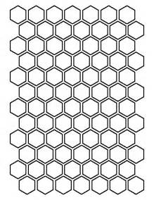 Hexagon Paper Templates by 25 Best Hexagon Pattern Ideas On Color