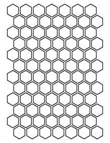 paper hexagon templates 25 best hexagon pattern ideas on color