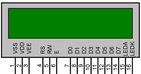 16x2 lcd pin diagram lcd pin diagram 16x2 www pixshark images galleries