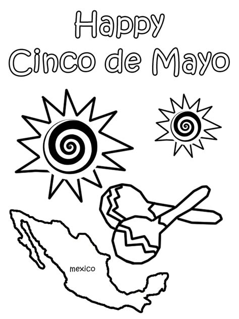 Cinco De Mayo Coloring Pages 2 Coloring Pages To Print Cinco De Mayo Coloring Pages