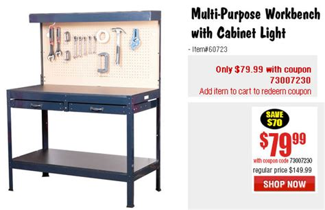 bench coupons labor day weekend sale at harbor freight 171 daily bulletin