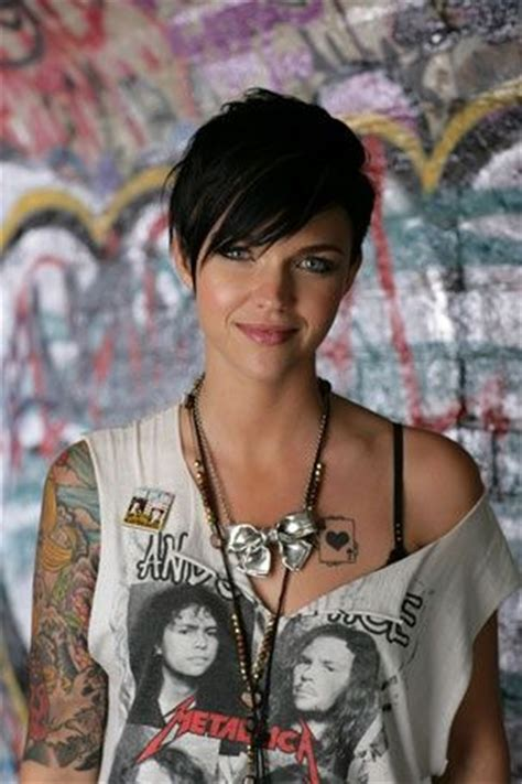 ruby rose cutting hair video ruby rose has the badass look down for the love of style