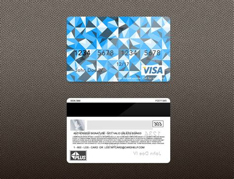 visa card template bank card credit card layout psd template zamartz