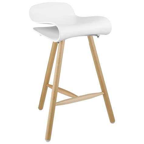 Stool In by White Wood Bar Stools Providing Enjoyment In Your Kitchen