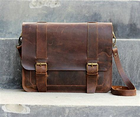 Handmade Briefcase - leather 18 inch handmade leather briefcase leather