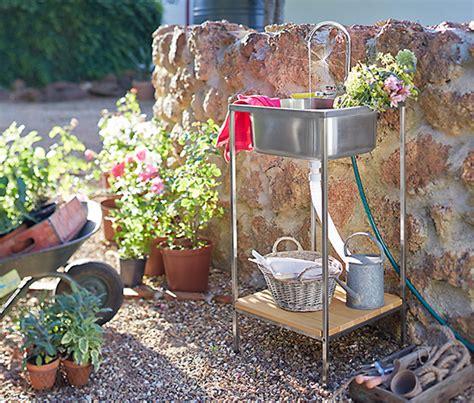 garten waschtisch garten waschbeckenelement bei tchibo