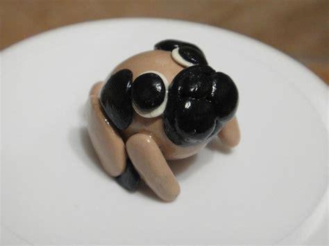 polymer clay pug polymer clay pug clay ideas