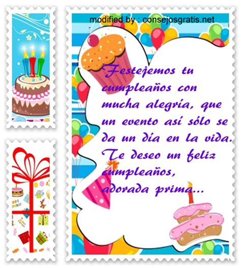 Imagenes Con Mensajes De Cumpleaños Para Mi Prima | nuevas felicitaciones con im 224 genes de cumplea 241 os para mi