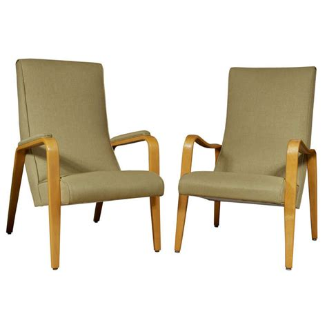 pair thonet high back bentwood arm chairs at 1stdibs