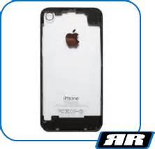 Ivue Ipod by Ivue Clear Black Back Panel For Iphone 4 Rapid Repair