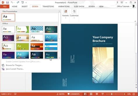 catalog template powerpoint free brochure templates for microsoft