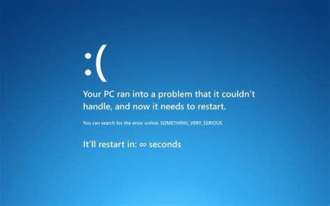 an error laptop wallpaper blue screen error windows 8 wallpaper