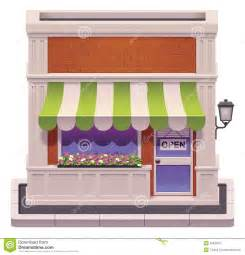 Awning For Business Vector Small Shop Icon Stock Image Image 30632011