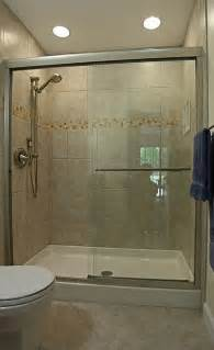 Tiling Ideas For A Small Bathroom Small Bathroom Tile Designs With Kohler Fluence Frameless