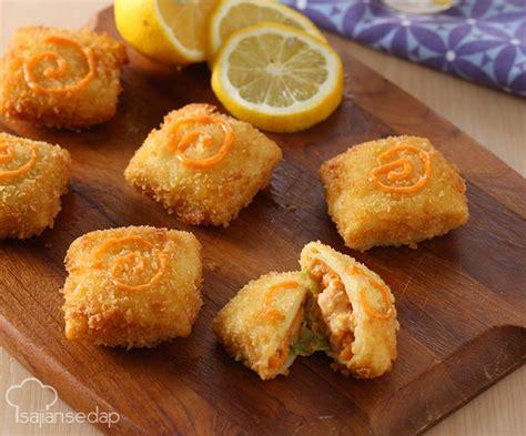 risoles udang melepuh  variasi risoles