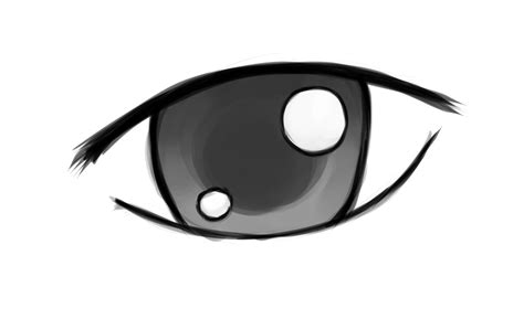 anime eyes that are easy to draw how to draw simple anime eyes 5 steps with pictures