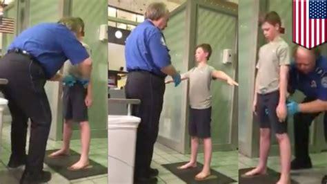 mrvine down tsa pat down disabled boy traumatized by dallas airport