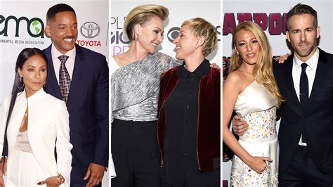 50 celebrity couples open up about love and relationships