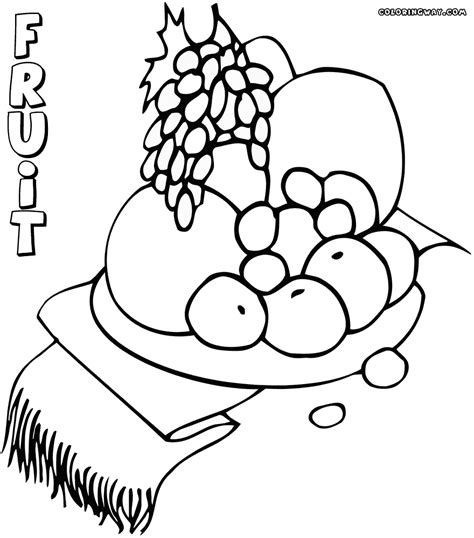 different food coloring pages coloring pages to download