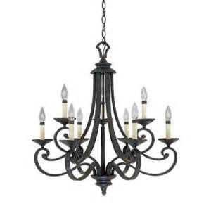 Hanging Chandelier Designers Monte Carlo 9 Light Hanging