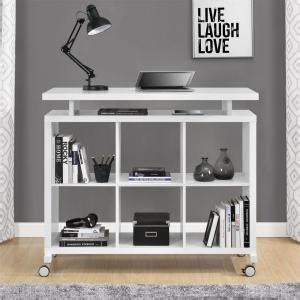 build a standing desk home depot altra furniture lincoln white standing desk with shelves