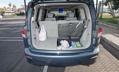 nissan quest cargo car and driver