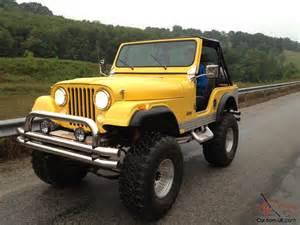Five Jeep 1980 Cj 5 Jeep Cj5