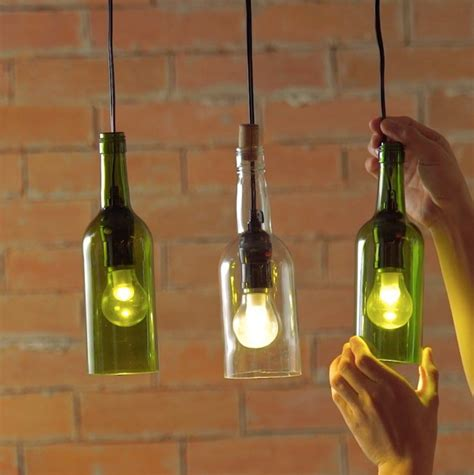 How To Create A Wine Bottle Lights Diy Projects Craft Wine Bottle L Lights