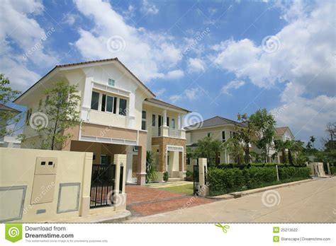 Modern Luxury House Exterior Modern luxury modern house exterior stock photo image 25213522