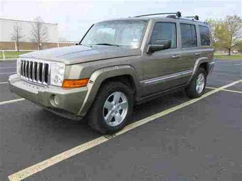2006 Jeep Commander 2wd Purchase Used 2006 Jeep Commander Limited 2wd 4 7l V8