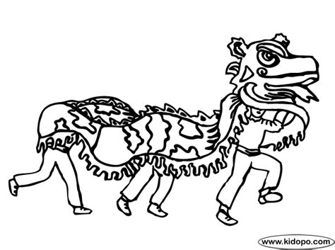 download chinese new year dragon coloring pages