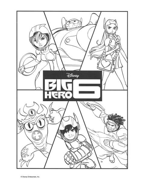 coloring pages big hero 6 big hero 6 coloring pages and activity sheets bighero6