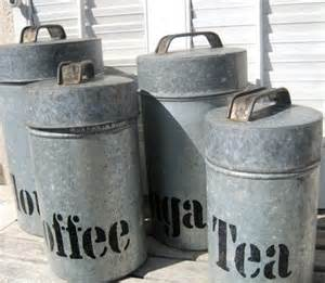 rustic kitchen canister sets vintage kitchen decor vintage