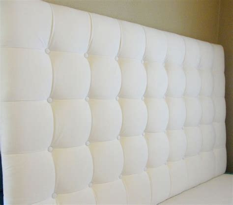 Square Tufted Headboard by Custom Tufted Upholstered Headboard Made To Order
