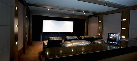 savant in at a home theater with