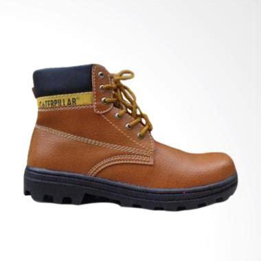 Sepatu Caterpillar Coklat jual caterpillar safety shoes bromo sepatu pria cokelat harga kualitas terjamin