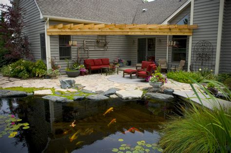 aquascape patio pond pond construction installation contractors service