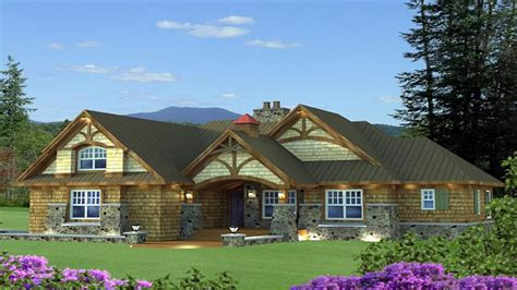 Cottage Craftsman Ranch House Style Craftsman Style Cottage Ranch House Plans