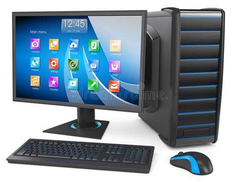 wallpaper personal computer desktop pc stock illustration image of hardware