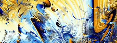 Blue and Yellow Abstract Facebook Cover Unique Girly Backgrounds