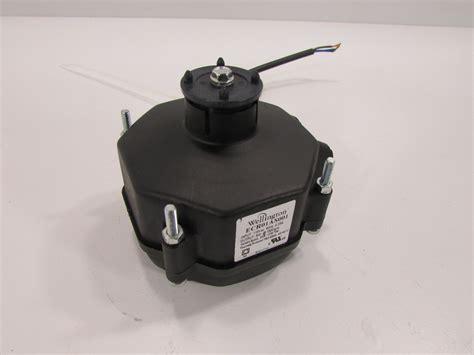 1500 rpm fan motor wellington refrigeration fan motor ecr01as001 115v60 hz 9w