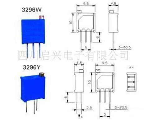 multiturn resistor datasheet 3296 variable resistor datasheet 28 images buy 1pc 3296w 3296 trimmer potentiometer variable