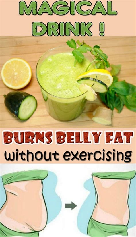 Detox Drinks To Burn Belly by Lose Belly Quickly With This Amazing Recipe