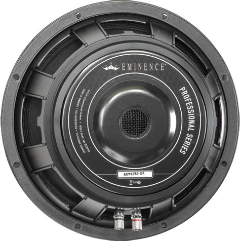 Speaker Eminence 12 speaker eminence 174 pro 12 quot kappa pro 12a 500 watts antique electronic supply
