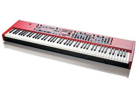 Keyboard Nord Stage 2 Clavia Nord Stage 2 Ha88 Review Musicradar