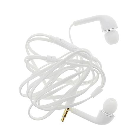 doodle 2 white earphone for micromax a240 canvas doodle 2 by maxbhi