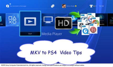 what dvd format does ps4 play mkv to ps4 tips does sony ps4 support mkv video files