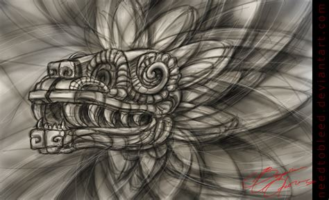 quetzalcoatl form by benjamin otero by needtobleed on