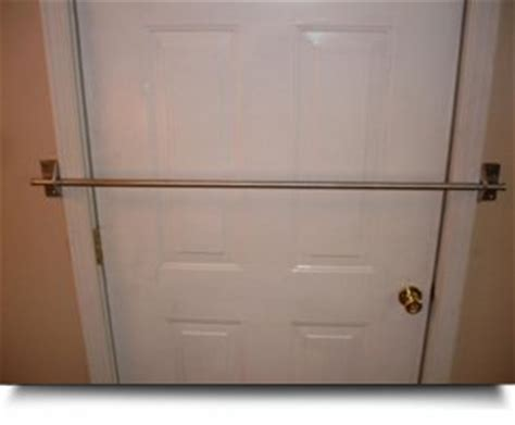 see safe home security door bar restraint