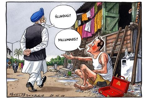 French Colonial by Cartoon Slumdog Millionaire The English Blog